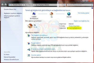 Windows 7 DNS Değiştirme (1)