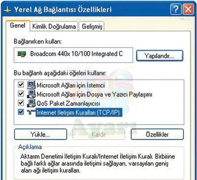 windows xp dns değiştirme (2)